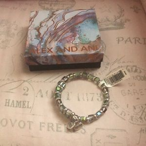 New in box Alex and Ani holiday 2016 bracelet